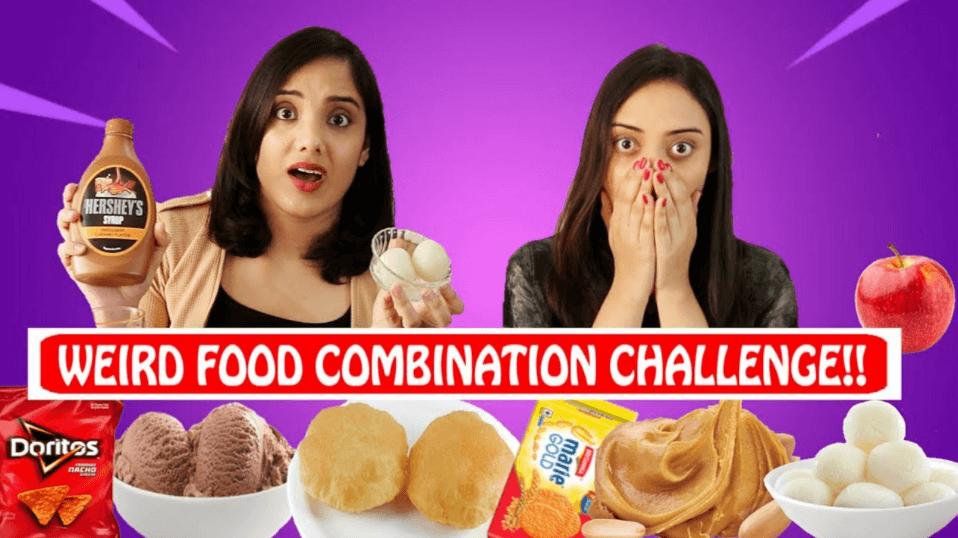 Weird Food Combination Challenge