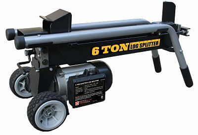 WEN (6-Ton) Best electric log splitter