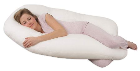 Leachco Back 'N Belly Pregnancy Contoured Body Pillow