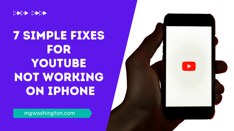 7 Simple Fixes for YouTube Not Working on iPhone
